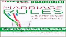 [PDF] Marriage Rules: A Manual for the Married and the Coupled Up Free New