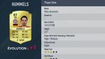 FIFA 17 : les notes des meilleurs joueurs de la 40e à la 31e place