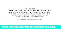 [PDF] The Managerial Revolution: What is Happening in the World Full Online[PDF] The Managerial