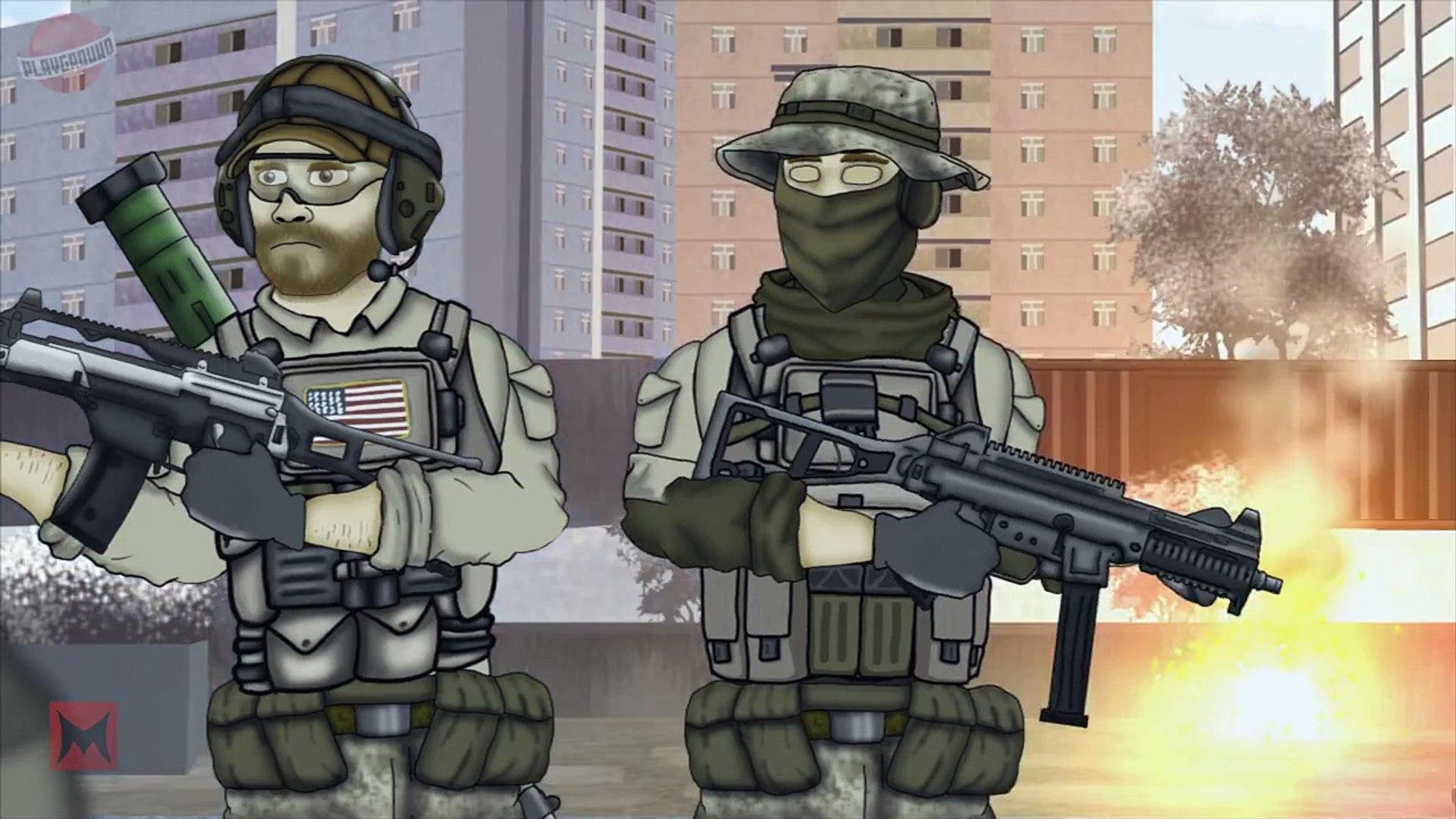 Друзья по Battlefield - Поезд хайпа 6 сезон 15 серия