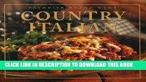 [PDF] Favorite Brand Name: Country Italian (Favorite Brand Name Recipes) Full Online