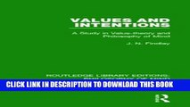 [PDF] Values and Intentions: A Study in Value-theory and Philosophy of Mind Full Colection