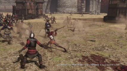 Berserk and The Band of The Hawk : Casca gameplay