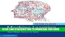 PDF] Machine Learning: The Art and Science of Algorithms