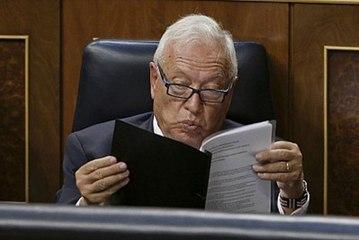 """García Margallo acusa al PSOE de """"autismo moral"""""""