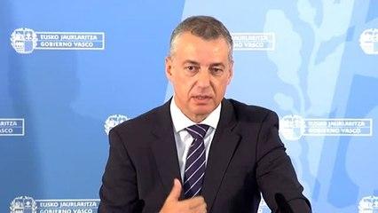 """Urkullu abre la puerta a negociar """"con todos"""" tras las elecciones vascas"""