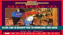 [PDF] The Baby-Sitters Club Mystery #23: Abby and the Secret Society (The Baby-Sitters Club