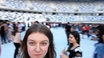 Robbie Williams live in Tbilisi 2016 before the show