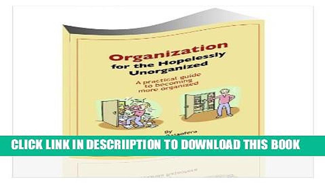What is Chronic Disorganization?