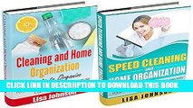 [New] CLEANING AND HOME ORGANIZATION BOX-SET#8: Cleaning And Home Organization + Speed Cleaning