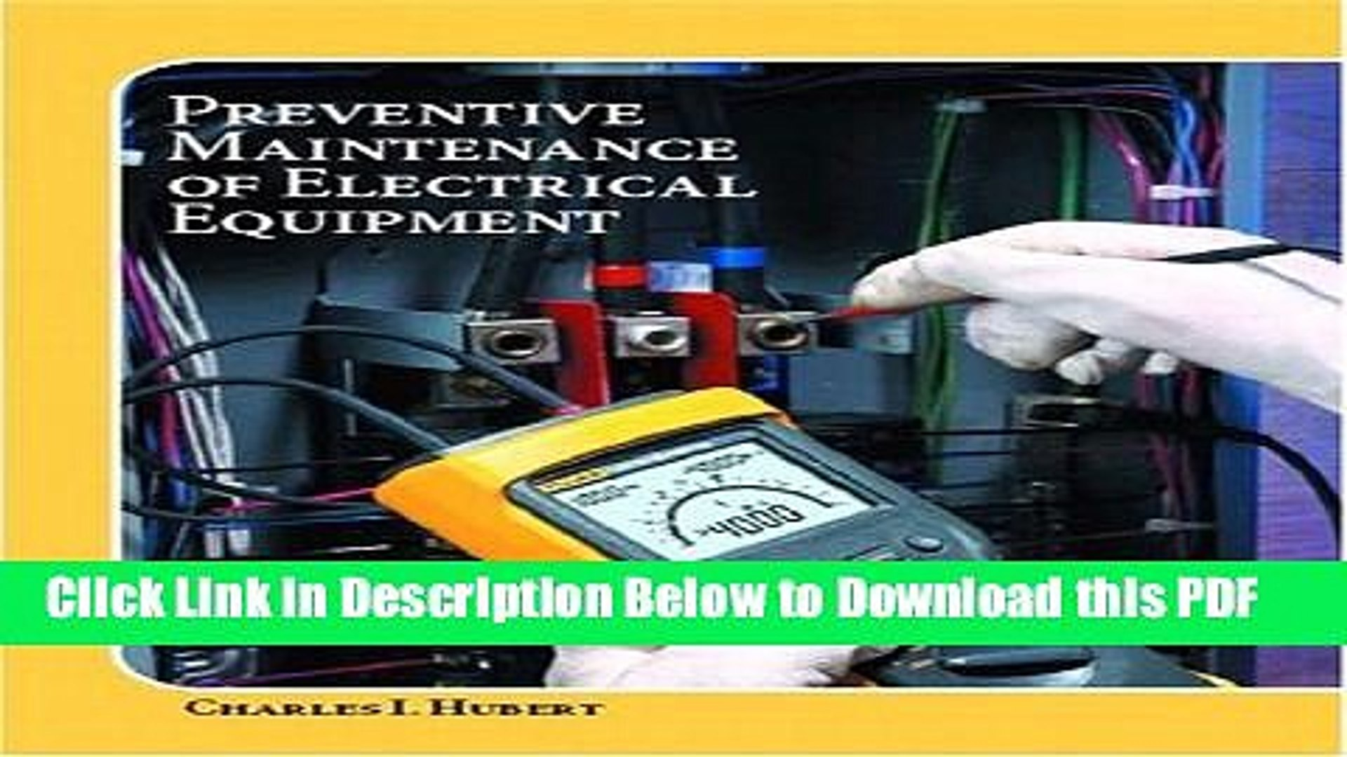 [Read] Operating, Testing, and Preventive Maintenance of Electrical Power  Apparatus Full Online