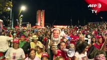 Rousseff supporters rally against impeachment in Brasilia