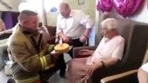Ce qu'elle réclame pour ses 105 ans va vous faire rire !