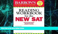 Big Deals  Barron s Reading Workbook for the NEW SAT (Critical Reading Workbook for the Sat)  Free