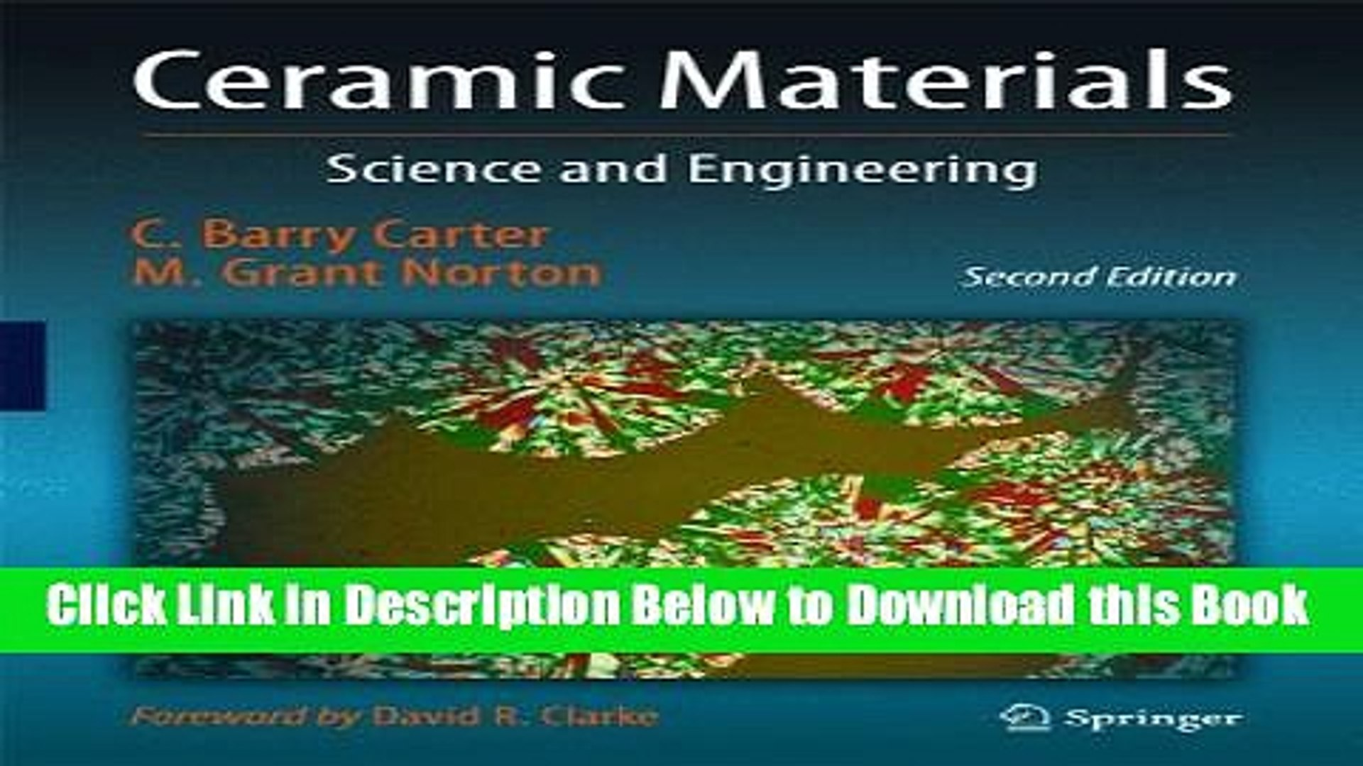 Reads Ceramic Materials Science And Engineering Online Books