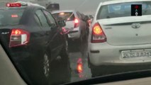 Delhi-NCR Battles Traffic Jams And Water Logging After Heavy Rains