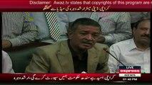 Deputy Mayor Karachi Arshad Vohra Media Talk - 31st August 2016