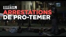 Brésil : arrestations de manifestants en soutien à Dilma Rousseff