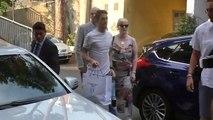 Luis Alberto arrives for Lazio medical