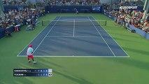 ABD Açık: Teymuraz Gabashvili - Fabio Fognini (Özet)