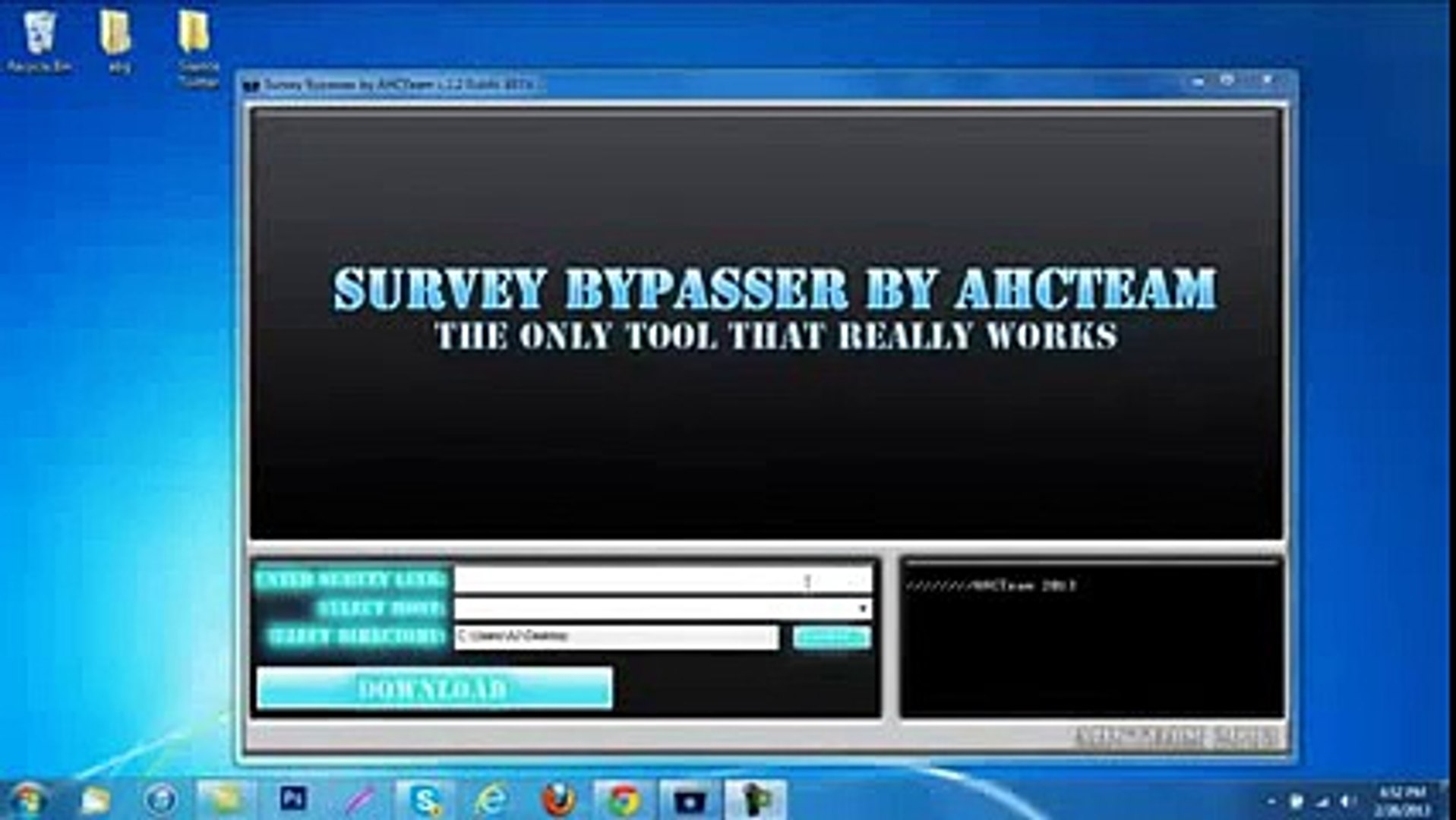 Fileice Online Survey Bypasser Tool 2017.