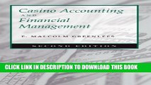 [PDF] Casino Accounting and Financial Management: Second Edition Popular Colection