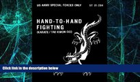 Must Have PDF  ST 31-204 Hand-To-Hand Fighting (karate / tae-kwon-do) US Army Special Forces w