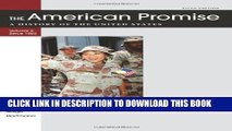 [PDF] The American Promise Value Edition, Volume II: From 1865: A History of the United States