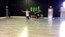 Jungkook predebut dance training LA
