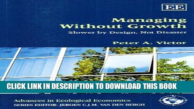 [PDF] Managing Without Growth: Slower by Design, Not Disaster Popular Online