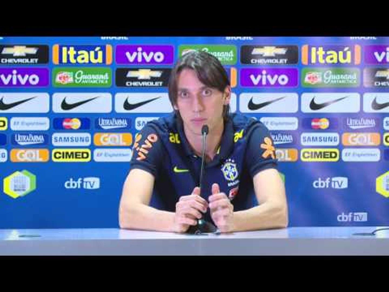 Seleção Brasileira: Coletiva com Geromel - 30/08/2016