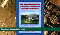 Big Deals  The First Nationwide Alcoholics Anonymous History Conference, 2d ed.  Best Seller Books
