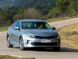 Kia Optima Plug-in Hybrid : 1er contact en vidéo