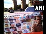 Baloch activists hold protest to highlight atrocities by Pakistan in Balochistan - ANI News