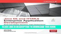 [Read PDF] Java EE and HTML5 Enterprise Application Development (Oracle Press) Download Online