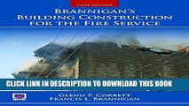 New Book Brannigan s Building Construction for the Fire Service