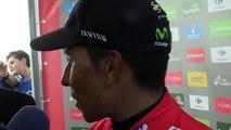 """La Vuelta 2016 - Nairo Quintana : """"On contrôle ce Tour d'Espagne avec la Team Movistar"""""""