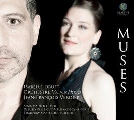Isabelle Druet, Orchestre Victor Hugo, Jean-François Verdier / Muses