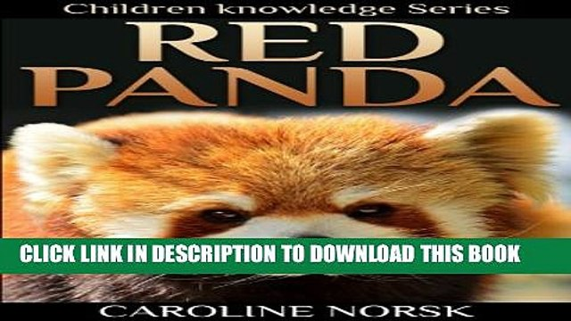 [New] Red Panda: Amazing Photos   Fun Facts Children Book About Red Panda (Children Knowledge