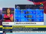 Condena Ecuador destitución de la pdta. constitucional de Brasil