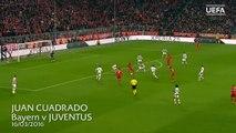 Relembre belo gol de Cuadrado pela Juventus