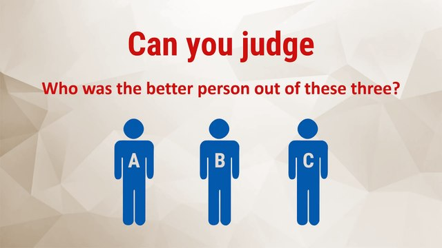 Can You Judge? - Inspirational Video