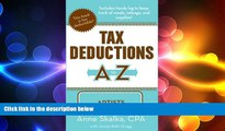 READ book  Tax Deductions A to Z for Artists (Tax Deductions A to Z series)  FREE BOOOK ONLINE