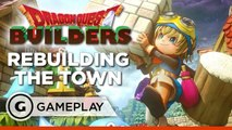 Dragon Quest Builders - First Look at Building a Town Gameplay