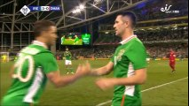 Robbie Keane Gets A Standing Ovation After Being Subbed Off In His Last Match for Ireland!