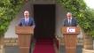 Dışişleri Bakanı Çavuşoğlu - Kıbrıs Müzakereleri