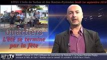 HPyTv JT65   L'info de Tarbes et des Hautes-Pyrénées (1er septembre 2016)