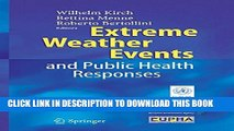 [PDF] Extreme Weather Events and Public Health Responses Popular Collection