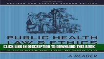[PDF] Public Health Law and Ethics: A Reader (California/Milbank Books on Health and the Public)