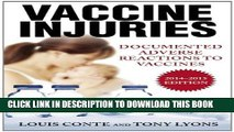 [PDF] Vaccine Injuries: Documented Adverse Reactions to Vaccines Full Colection